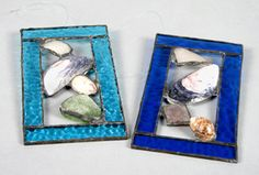 Beach-inspired Stained Glass Panel Ocean Room, Glass Panels, Stained Glass, Artsy, Inspired, Beach, Frame, Inspiration, Ideas