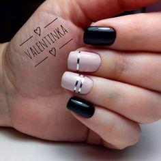 tape-nails-74 Top 57 Gel Nail Design Trends 2018 Nail Art trends nail gel design 2018