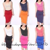 Free shipping 2013 casual sequined Summer hot-selling cotton knitting women's tank Tops