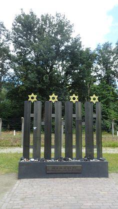 wk 28 Kamp Vught. Monument voor de omgekomen Joodse kinderen.