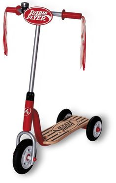 Radio Flyer Scooter Little Red Toy Kid Toddler Ride On Push Ringing Bell Bike  #RadioFlyer