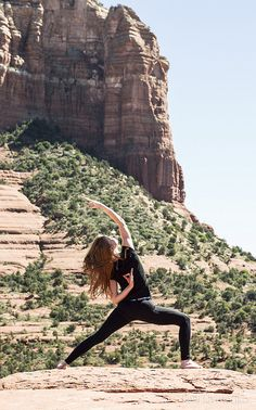 Mountaintop yoga - why not?
