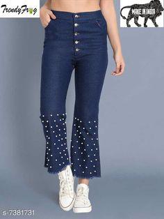 Jeggings Women's Stylesh Jeggings Fabric: Denim Multipack: 1 Sizes:  28 (Waist Size: 28 in Length Size: 44 in)  30 (Waist Size: 30 in Length Size: 44 in)  32 (Waist Size: 32 in Length Size: 44 in) 34 (Waist Size: 34 in Length Size: 44 in) Country of Origin: India Sizes Available: 28, 30, 32, 34   Catalog Rating: ★3.9 (448)  Catalog Name: Women Jeggings CatalogID_1184462 C79-SC1033 Code: 363-7381731-588