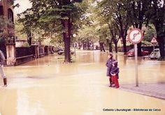 Uholdeak Erromon / Inundaciones en Romo, 1977 (ref. 04309)