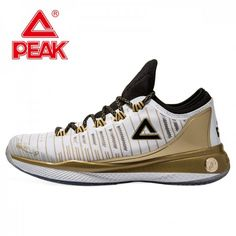 c972a3ac623 PEAK Tony Parker 2017 NBA PLAYOFFS Shoes - Gold Rockets Basketball