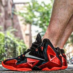 "MENNIKE LEBRON XI ""BRED""What Do You Think -> Yay or Nay (1-10) ? ➖➖➖➖➖➖➖➖➖➖➖➖➖➖➖➖➖➖⤵️⤵️⤵️⤵️⤵️⤵️⤵️⤵️⤵️⤵️⤵️⤵️⤵️⤵️⤵️⤵️⤵️⤵️  #finestsneakers #finestsneakerscom  #instagood  #sneakerholics  #sneakernews  #swag  #kicks4eva  #kicks  #special  #picoftheday  #kickstagram  #shoeaddict  #instadaily  #sneakerheads  #dope  #walklikeus  #basketball  #boys  #swagg  #red  #kicksonfire  #kickstagram  #nikeshoes  #sneakerwatch  #sneakeroftheday  #sn..."