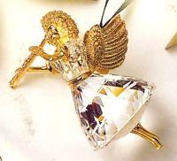 Swarovski Crystal Christmas Memories 1999 Angel Ornament MIB COA New
