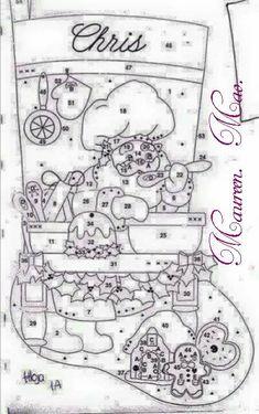 Christmas Pictures, Christmas Crafts, Christmas Decorations, Xmas, Felt Stocking, Stocking Tree, Felt Patterns, Felt Ornaments, Reindeer