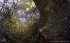 Background Painting :JASON HORLEY /matte painting/background painting/concept art