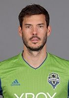 UCI alum Brad Evans (2002-06) was drafted by the Columbus Crew in the 2nd round, 15th overall in the 2007 MLS SuperDraft.  He was selected by the Seattle Sounders (shown) with the 10th pick in the 2009 Expansion Draft.