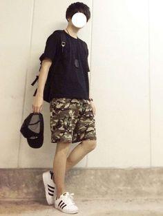 -----------【コーデ日記】----------- 上下GU‼️カジュアル短パンコーデ‼️☺ How To Wear, Design