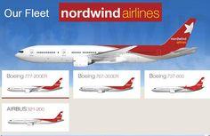 Nordwind airlines fleet