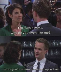 "When Robin and Barney got back together. | 19 Times ""How I Met Your Mother"" Restored Your Faith In Love"