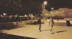 Instagram #skateboarding video by @felix_bautista - Un lunes noche cualquiera en muy buena compañia! Y mañana sera otro dia! I love this game  rodandooo!! #skate #skateboarding #skateboard #skatepark #skater #boardlife. Support your local skate shop: SkateboardCity.co