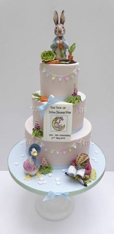 Childrens literature theme cake