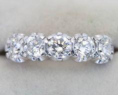 Diamond five stone ring two carats total weight G colour and VS clarity 9500 #ring #rotd #diamondring #showmeyourrings #diamondsareagirlsbestfriend #engagement #engagementring #weldons www.weldons.ie #eternity #eternityring #fivestone via: #probeatz