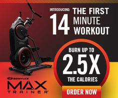 The Bowflex Max Trainer is a full body cardio machine that burns calories and involves the top body while working the joints without discomfort. It is a unique revolutionary exercise equipment for the fastest and most reliable workout you can do at home. Best Home Gym Equipment, No Equipment Workout, Fitness Equipment, Bowflex Max Trainer M5, Elliptical Trainer, Bowflex Ultimate, Bowflex Workout, 4 Minute Workout