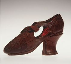Shoe, 1610-1620
