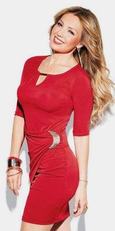 Thalia, Mexican Actress, Bodycon Dress, Dresses With Sleeves, Singer, Actresses, Long Sleeve, Famous People, Mexico