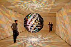 Mesmerizing Kaleidoscopic Glass Installations by Olafur Eliasson
