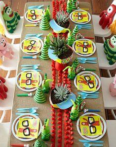 Festa infantil por Jesi Haack Viver em festa adorou!