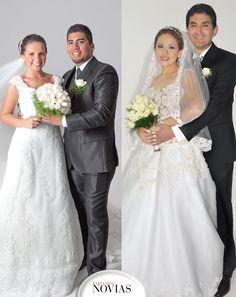 IZQUIERDA.- Bruna Borgo y Luis Gutiérrez DERECHA.- Arely Vargas y Edison Burgoa