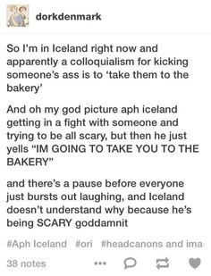 APH Iceland - I wonder how this phrase came about...