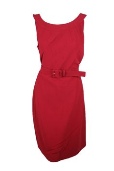 8 John Womens Wool-Blend Sheath Dress St