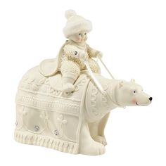 Snowbabies Figurine - The Polar Duchess - Department 56 Snowbabies Collection 4043518 #FineGiftsNottingham #SnowbabiesThePolarDuchessFigurine #Department56