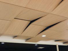 panneau acoustique plafond décoratif PRESTIGE D'OBERFLEX, Oberflex