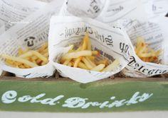 Fries, packaging