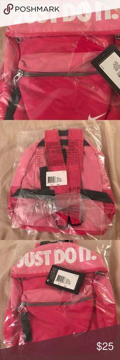 46d29f5e16 NIKE mini backpack Beautiful pink NIKE bookbag!! New! Never used!