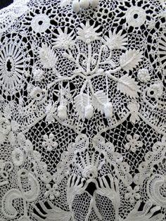 Antique Lace, Linens-Vintage Clothing-Textiles-Fans-Stella Niforos-New York
