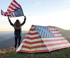 American Flag Tent! (Click for price)