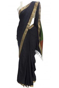 Contemporary Temple Silk Saree