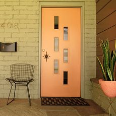 Someday Iu0027ll have a house where I can replace the boring stock door with & Crestview Doors - Pictures of modern front doors for mid-century ... pezcame.com