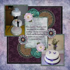 Wedding Cakes by twizzle. Kit: Moonlight Velvet and  Roses by CL Graphics http://scrapbird.com/designers-c-73/a-c-c-73_514/country-livs-graphics-c-73_514_351/clgraphics-moonlight-velvet-and-roses-bundle-p-17244.html