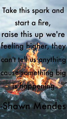 Something Big. Lyrics by, Shawn Mendes. Created by, Madison Feller. Something Big Lyrics, Shawn Mendes Something Big, Pics Of Shawn Mendes, Shawn Mendes Quotes, Shawn Mendes Song Lyrics, Shawn Mendes Concert, Shawn Mendes Lockscreen, Big Songs, Shawn Mendez