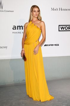 Rosie Huntington-Whiteley One Shoulder Dress - Rosie Huntington-Whiteley Looks - StyleBistro