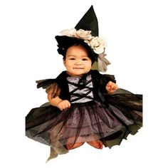 Infant/Toddlers' Lace Witch Costume
