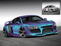 tuning cars | audi-r8-virtual-tuning | Car Tuning Central