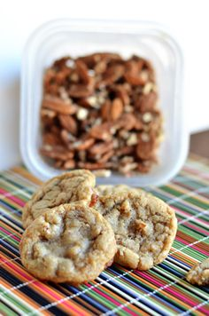 Buttery Brown Sugar Pecan Cookies: Made and loved! Can be prepared with chocolate chips in half the batch along with the pecans.