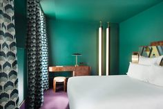 DOMINO:20 tiny hotel rooms that do small space RIGHT