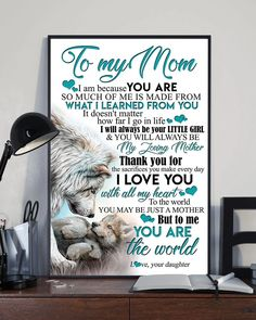 Perfect Gifts To My Husband Poster Great Gifts For Wife, Perfect Gift For Mom, Love Gifts, Best Gifts, Heart Poster, Daughter Necklace, Leather Notebook, Gsm Paper, Some Words