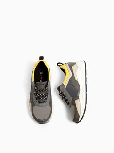 8d88505af87c Image 4 of CONTRASTING SNEAKERS from Zara Contrast