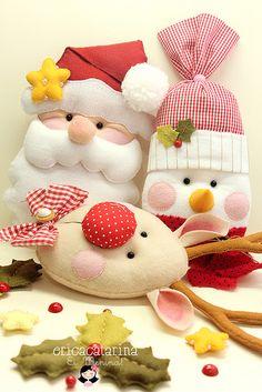 Por um Natal mais feliz e handmade! by Ei menina! - Erica Catarina, via Flickr