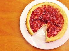 Cheesecake de Forno com Queijo Quark (Saudável, Sem Açúcar Adicionado, Sem Glúten, Sem Lactose) out-15, 2016 08:55