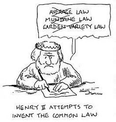 Common Law- the part of English law that is derived from custom and judicial precedent rather than statutes. Often contrasted with statutory law.