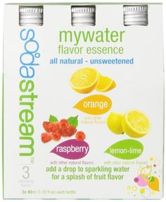 SodaStream MyWater Variety 40mL 3Pack >>> Check this awesome product by going to the link at the image.