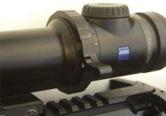Uronen Precision Throw Lever for Zeiss V8 rifle scopes